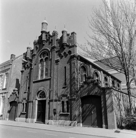 1237_010_758_011 - Architectuur. Religie. Jodendom. De Joodse Synagoge in de Willem II straat in 1997.