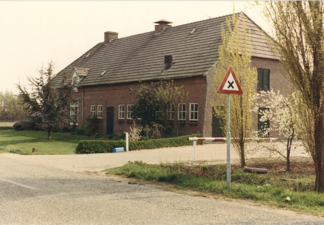 650838 - Gebied waar de latere woonwijk 'De Reeshof' is gebouwd.