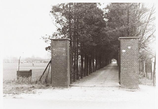 034100 - Oprijlaan kerkhof aan de Jac. van Vollenhovenstraat, voorheen Heikantsebaan