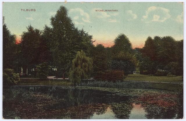 002981 - Wilhelminapark met vijver.