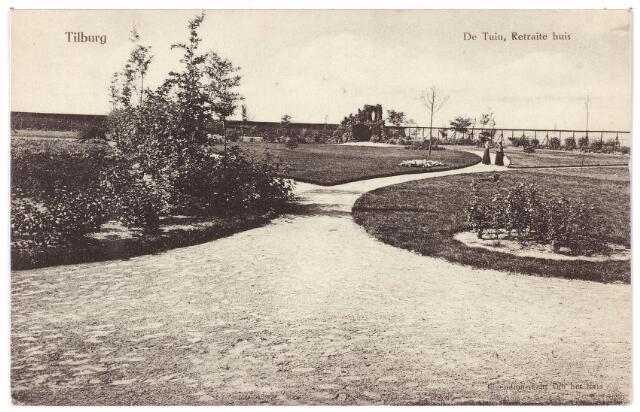 Engelse Landschapsstijl Tuin : 001445 koningshoeven thans kempenbaan. tuin van de retraitanten