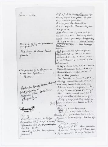 007231 - Brief.Uittreksel van mr. Pels Rijcken van het proces-verbaal van pastoor Van Zinnicq Bergman afgenomen op 27 augustus 1900 (Marietje Kessels).