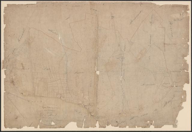 652607 - Kadasterkaart Tilburg, Sectie G (De Reit), blad 1. Schaal 1:2500. z.j.
