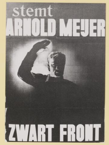 077338 - Affiche Zwart Front 1934-1941