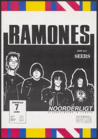 650243 - Noorderligt. The Ramones. Support act:  Seers