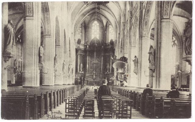 000583 - Interieur R.K. kerk St. Dionysius Goirkestraat.