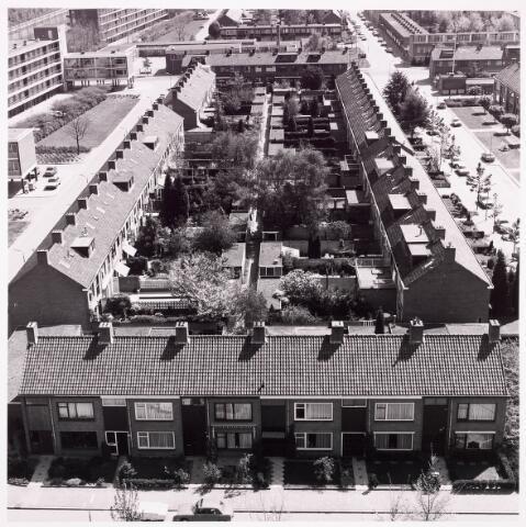 036620 - Panorama van Tilburg vanaf de flat aan de Salesianenstraat