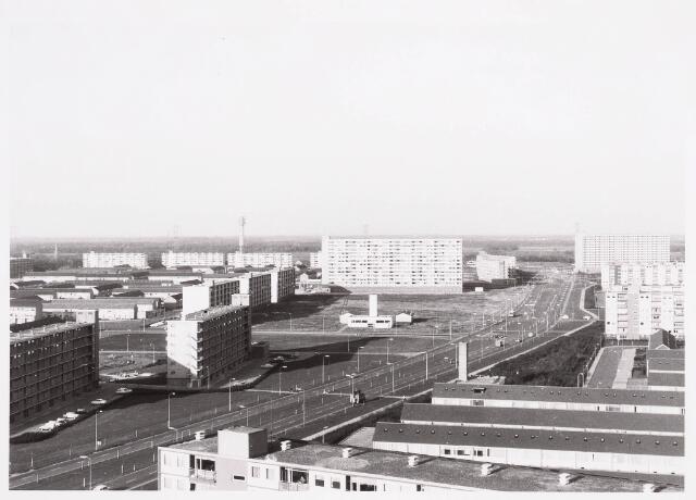036535 - Panorama van Tilburg-Noord vanaf de flat aan de Mozartlaan