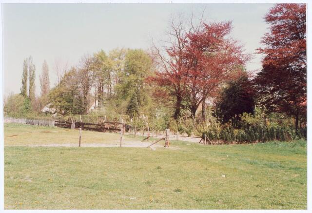 019905 - Achterzijde van panden aan de Guido Gezellestraat anno 1987
