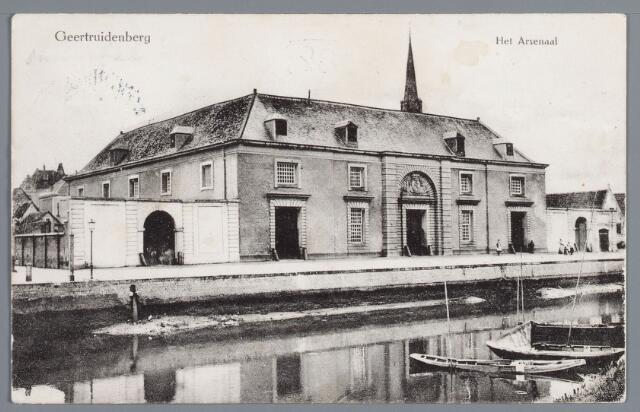058194 - Het Arsenaal in Geertruidenberg.