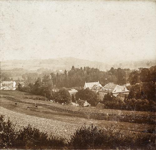 653522 - Uitzicht over Valkenburg. (Origineel is een stereofoto.)