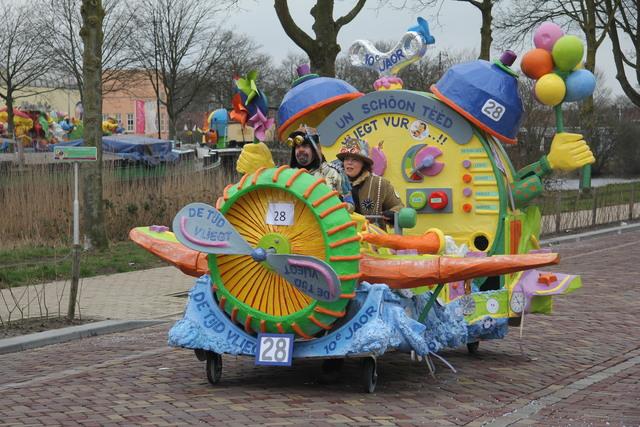 658123 - Carnaval. Optocht. Kruikenstad. D'n Opstoet door het centrum van Tilburg in februari 2017.