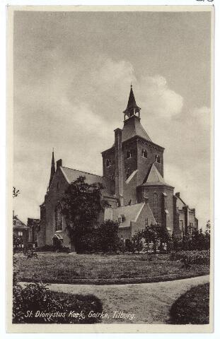 000599 - Achterzijde kerk St. Dionysius en pastorietuin, Goirkestraat.