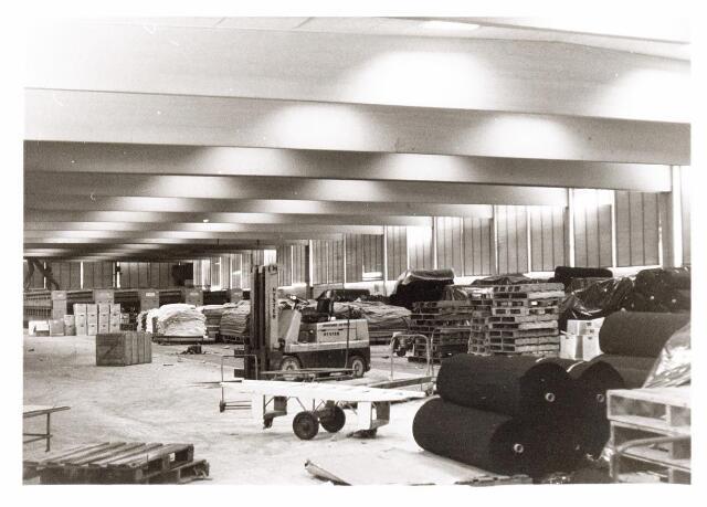 037993 - Textiel. Magazijn van wollenstoffenfabriek A & N Mutsaerts aan de Pironstraat