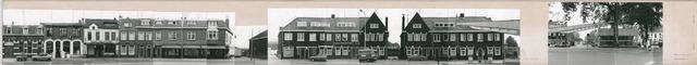 1625_0171 - Fotostrook; straatwand; panden aan de linten en hoofdverbindingswegen in het centrum van de stad; op strook met Korvelplein 1-78 + 50; foto's werden tussen 1976 en 1985 gemaakt. (foto gemaakt in periode 1976-1985)