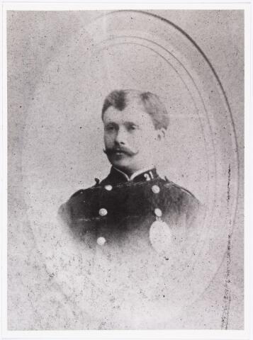 007484 - F. van Morkhoven. Foto gemaakt t.g.v. het veertig-jarig jubiléum op 1 april 1894 van postdirecteur jhr. J.C.C.I.M. Sasse van IJsselt.