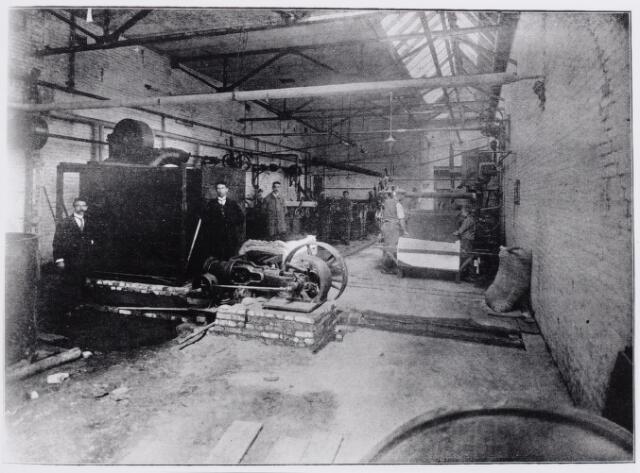 045778 - Textielindustrie. Interieur textielfabriek P.W. van de Lisdonk. Zie ook 45776.
