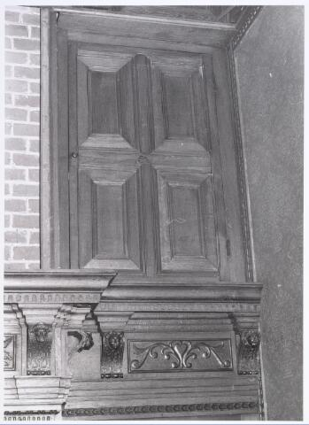 017917 - Deel van het interieur van hofstede De Blaak (jachtkamer)