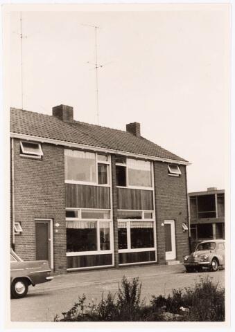 033474 - Voorgevels van de panden Trappistenstraat 15 en 17. Woning Trappistenstraat 15 werd november 1960 bewoond door W. Hulscher en zijn gezin.