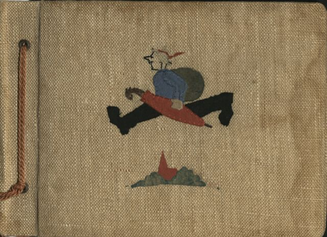 1608_021_ - Fotoalbum [ca. 1952-1960] Foto's van verschillende feesten en kampen. Slechts bij enkele foto's verklarende uitleg of namen bij de afgebeelde personen.