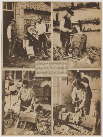 076688 - een kijkje in een klompenmakerij te Udenhout.