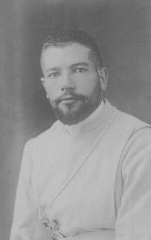 065691 - Aandenken aan broeder Stephanus bij zijn vertrek naar de missie.