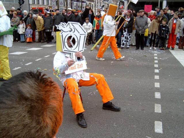 656976 - Carnaval. Optocht in Tilburg. D'n opstoet.