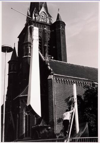 036059 - Stadhuisplein. Gedenknaald Obelisk.