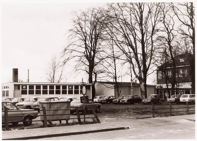 033325 - Hoger onderwijs. Bijgebouwen van de R.K. Leergangen aan de Tivolistraat nr. 9.