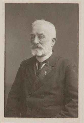 100409 - Jhr. Van Grotenhuis van Onstein, burgemeester van Oosterhout van 1897 tot 1917