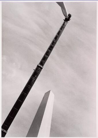 036097 - Stadhuisplein. Onthulling gedenknaald Obelisk.