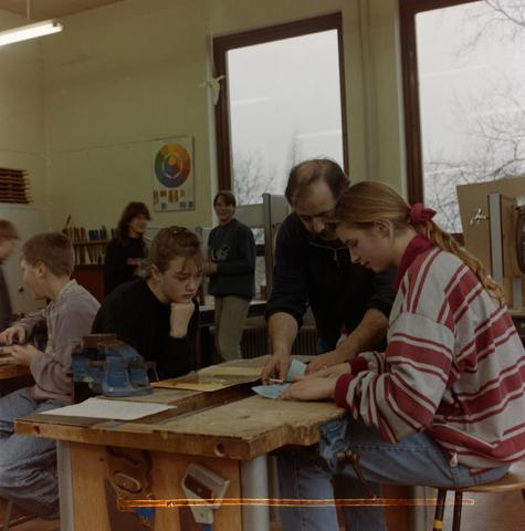 1237_012_974_002 - Onderwijs. De Lage Technische School (LTS) in Gilze in 1993.