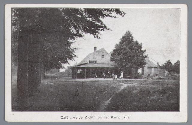 057999 - Rijen, café Heide Zicht bij kamp Rijen omstreeks 1927.