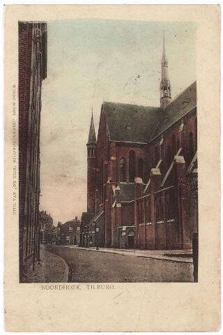 000659 - Industriestraat, later Hart v. Brabantlaan, kerk H. Hart (Noordhoek).