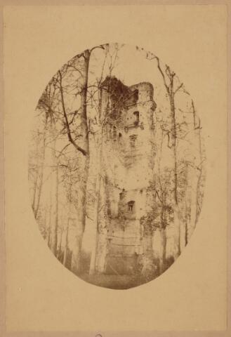 103550 - Ruine van het Huis ten Strijen De Slotbossche toren