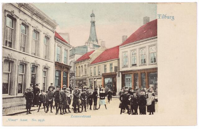 001194 - Heuvelstraat voorheen Zomerstraat bij de kruising met de Nieuwlandstraat.