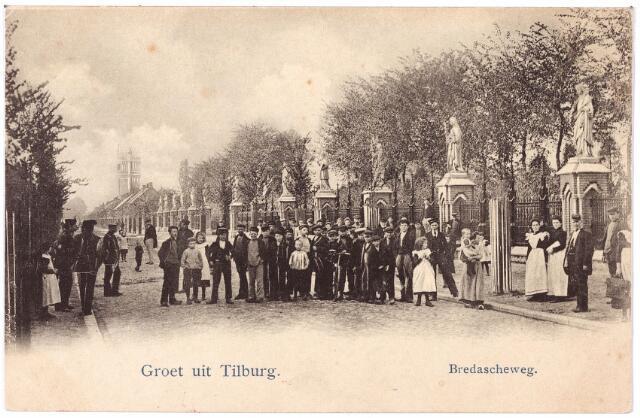 000088 - Bredaseweg, beeldengalerij bij het kerkhof.