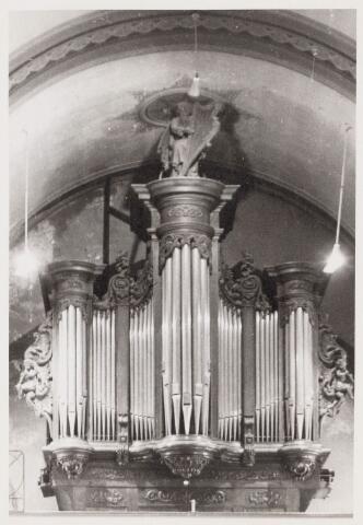 100555 - Kerken. Orgel van de St Janskerk in Oosteind