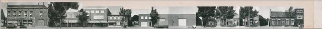 1625_0141 - Fotostrook; straatwand; panden aan de linten en hoofdverbindingswegen in het centrum van de stad; tot Goirkestraat 1; foto's werden tussen 1976 en 1985 gemaakt. (foto gemaakt in periode 1976-1985)