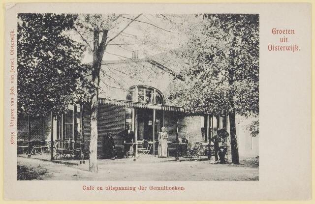 073715 - Café en uitspanning der Gemulhoeken aan de Gemullehoekenweg.