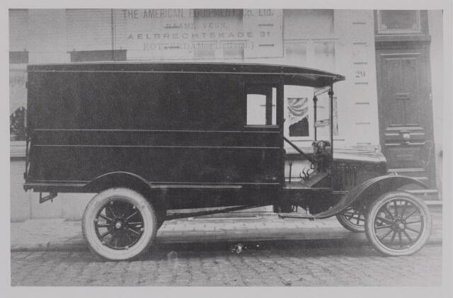 040406 - Bestelwagen geleverd door de fa. Th. Knegtel