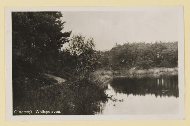 075339 - Serie ansichten over de Oisterwijkse Vennen.  Ven: Wolfsputven