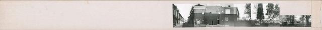 1625_0156 - Fotostrook; straatwand; panden aan de linten en hoofdverbindingswegen in het centrum van de stad; kantoor hoek Nieuwlandstraat; foto's werden tussen 1976 en 1985 gemaakt. (foto gemaakt in periode 1976-1985)