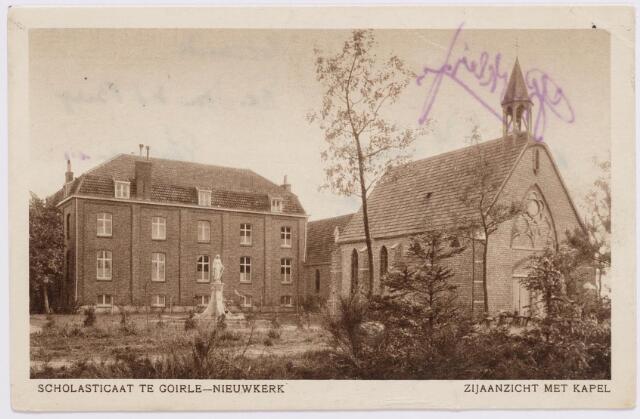 046517 - Klooster van de paters missionarissen van de H. Familie op Nieuwkerk. Zie nr. 46514.