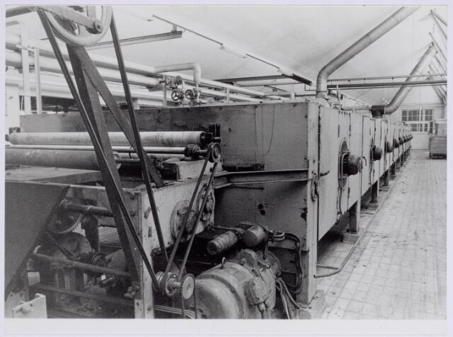 037946 - Textiel. Interieur van wollenstoffenfabriek George Dröge aan de Goirkestraat