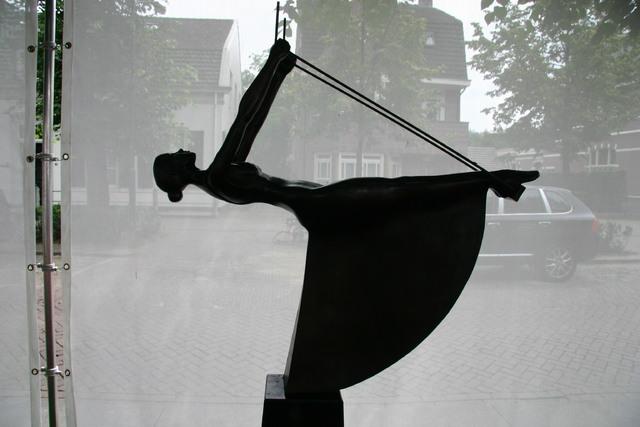 657309 - Kunst en cultuur. Tentoonstelling Oisterwijk Sculptuur.  Een jaarlijkse beelden expositie in het centrum van Oisterwijk.