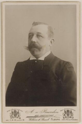 084610 - Burgemeester C.E. Erzeij, burgemeester van Baarle-Nassau 1904-1914