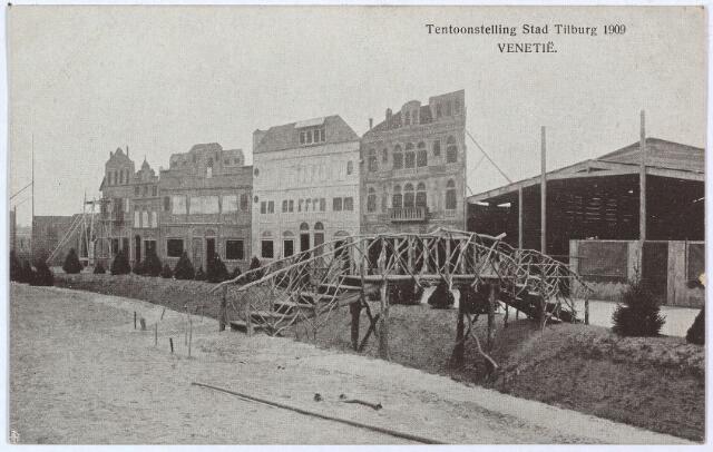 003293 - Het decor van de stad Venetië op de tentoonstelling Stad Tilburg.