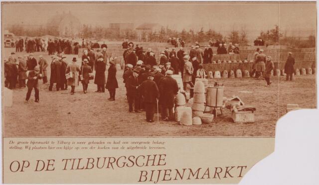 040720 - Overzicht van de bijenmarkt op het Gem. Sportpark te Tilburg (2-4-1930)