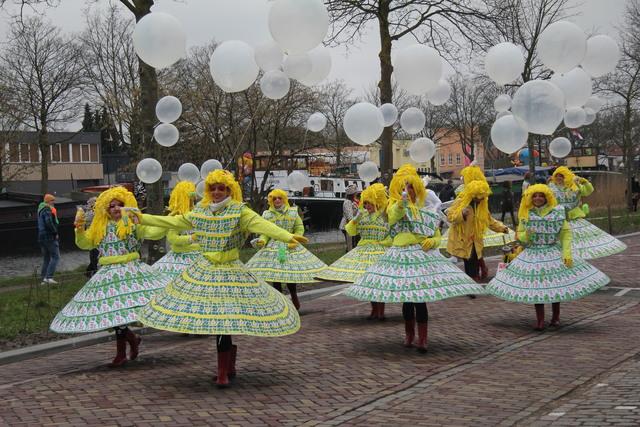 658122 - Carnaval. Optocht. Kruikenstad. D'n Opstoet door het centrum van Tilburg in februari 2017.